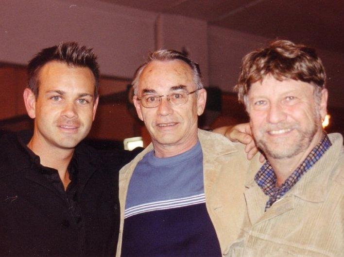 L-R: Ryan Truscott, Louis B. Hobson, Steven Truscott
